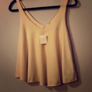 NWOT Urban Outfitters Cream tank top